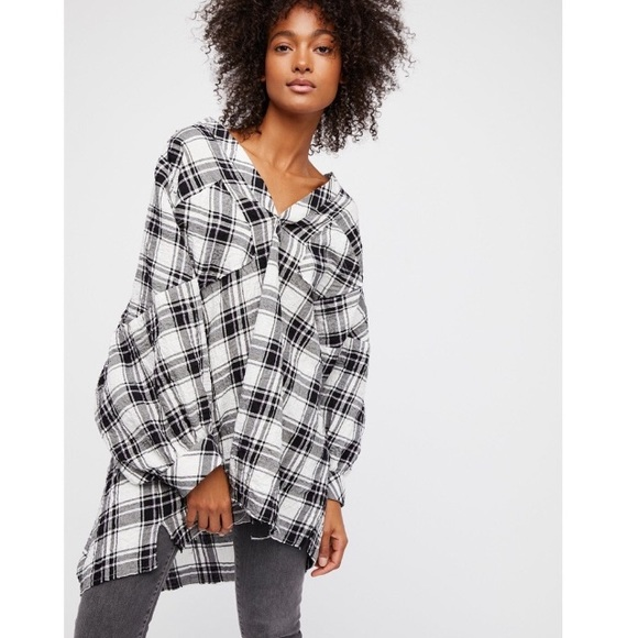 Free People Tops - Free People Not Your Boyfriend's Tunic